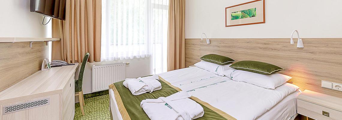 Mini dvivietis kambarys